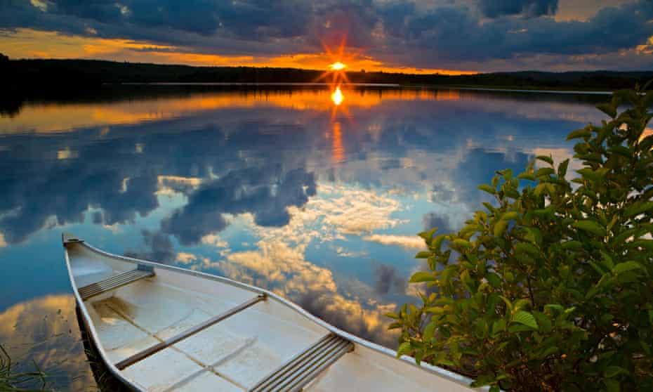 A stretch of the St Mary's River in Nova Scotia, Canada.