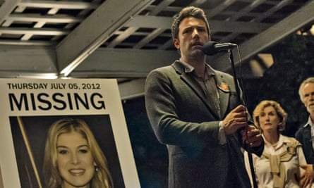 A 'brilliant thiller' containing a 'meta-twist': Ben Affleck in the film adaptation of Gillian Flynn's Gone Girl.