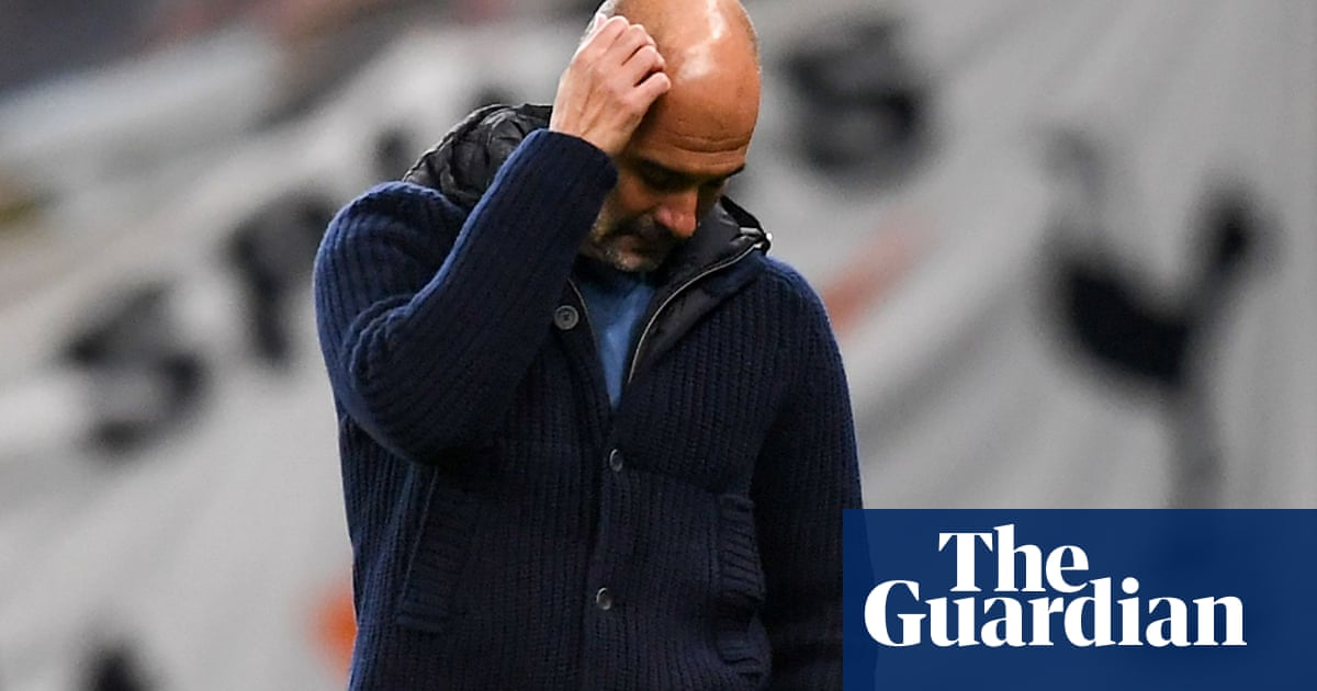 Pep Guardiola claims Manchester Citys goal problems are his fault