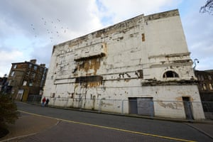 The Empire Burnley Theatre is in a dangerous state, riddled with asbestos.