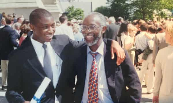 Uzodinma and his father.