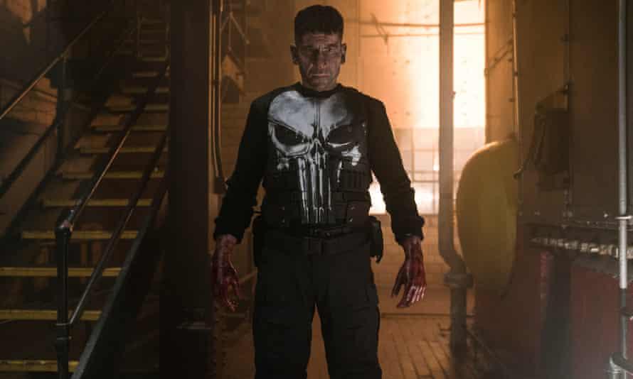 Jon Bernthal in Marvel's The Punisher.