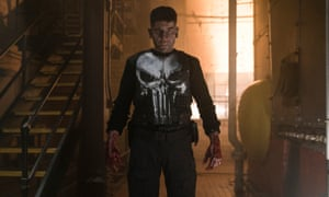 Jon Bernthal as The Punisher, in the Netflix TV show of the same name.