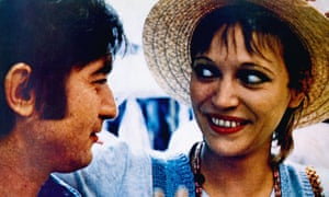 Michel Lancelot and Anna Karina in Vivre ensemble, 1973