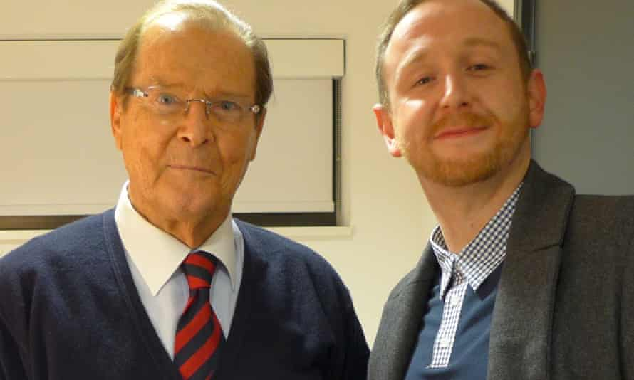 Roger Moore and Mark O'Conell.