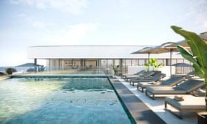 À l'infini et au-delà: la piscine sur le toit de Longevity Health & amp; Bien-être en Algarve