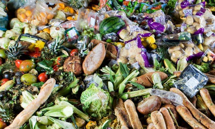 Food waste, England