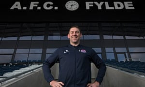 Dave Challinor has overseen three promotions at Fylde, who are in the National League and want to be in League Two by 2022.