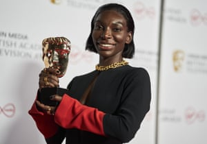 Michaela Coel Virgin Media British Academy Television Awards, Winners Press Room.