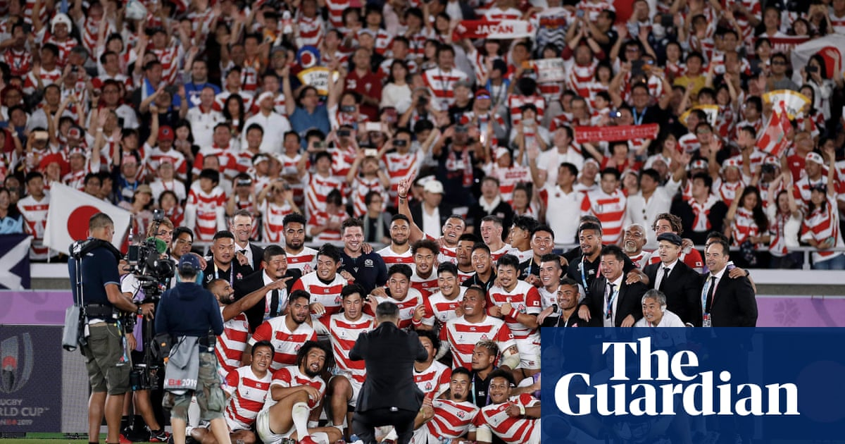 Jaw-dropping sport moments of 2019: Japan stun Scotland and shake up Rugby World Cup   Andy Bull