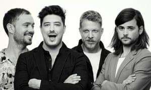 Ben Lovett, Marcus Mumford, Ted Dwane and Winston Marshall … 'We want as many people who want to come to a show to feel welcome.'