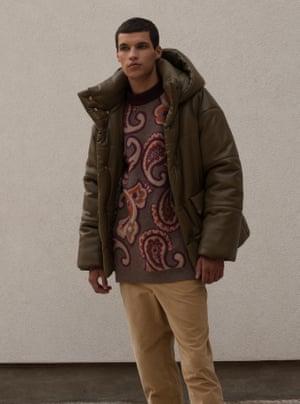 Jacket, £605, jumper, £310, and trousers, £260, by Nanushka.Styling: Melanie Wilkinson. Grooming: Delilah Blakeney using Kiehl's. Stylist's assistant: Peter Bevan. Model: Enno at Milk. Photography: David Newby