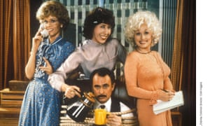 Hilarious detestation … Jane Fonda, Lily Tomlin, Dolly Parton and Dabney Coleman in 9 to 5.