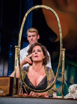 Marcia Gay Harden and Brian J Smith in Sweet Bird of Youth at Chichester Festival theatre