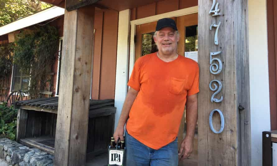 Bill Crain hikes the trail about once a week.
