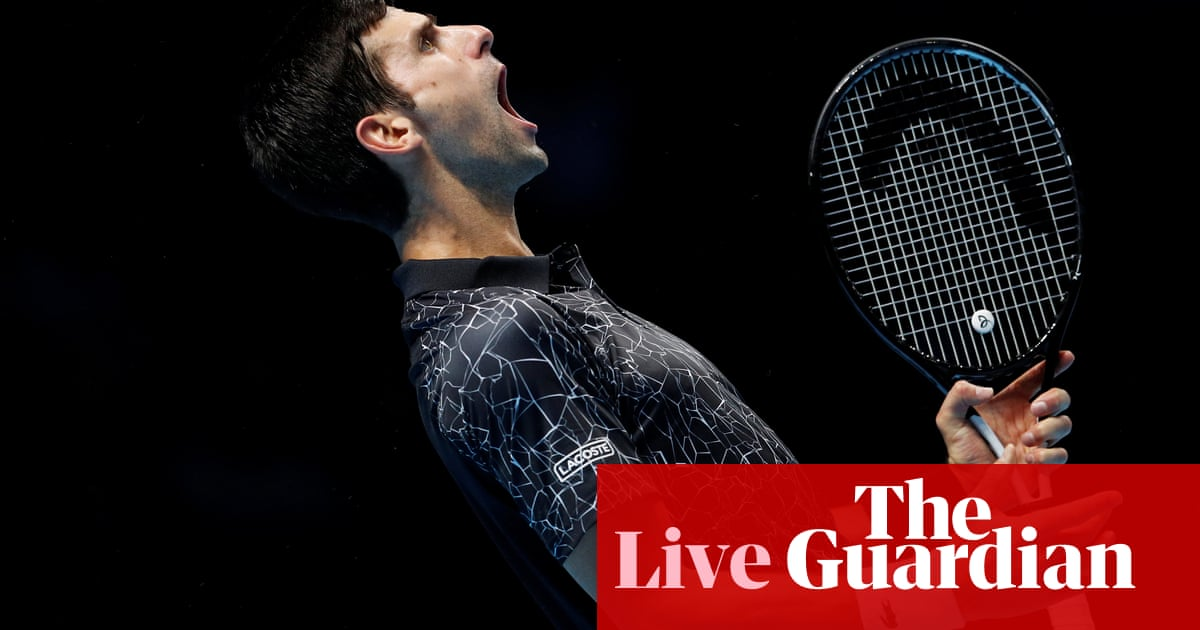 Novak Djokovic beats John Isner at ATP World Tour Finals 2018 – live!