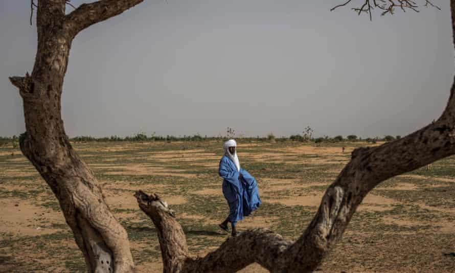 A village elder in Niger