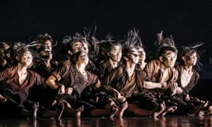 Cloud Gate Dance Theatre perform their new show Dust.