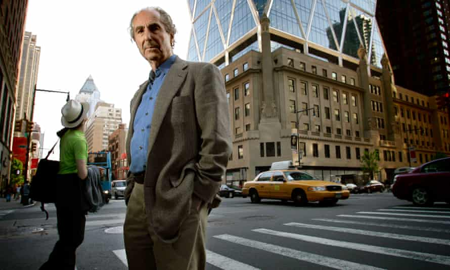 Philip Roth photographed in New York City in 2007.
