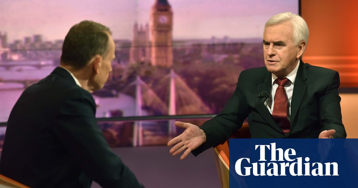 Labour antisemitism row may affect election result, says McDonnell