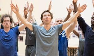 Benedict Cumberbatch in rehearsal