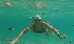 Swimming off Baja California