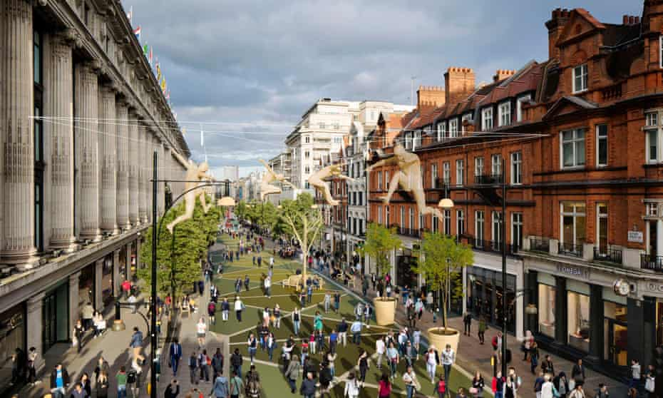 Plans to pedestrianise Oxford Street have been scrapped