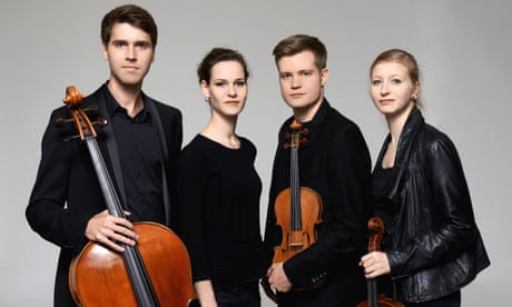 Notos Quartett: Hungarian Treasures CD review – fiery performance of lost early Bartók
