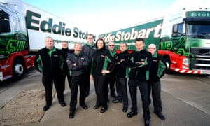 Eddie Stobart employees in a Channel 5 series about the company.