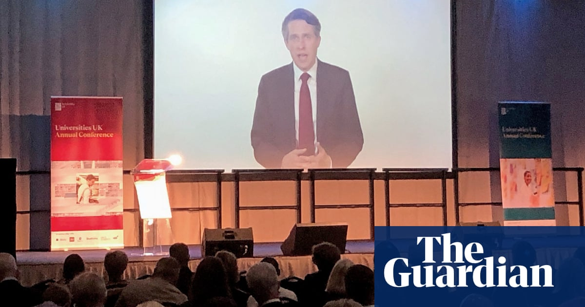 Universities in England favour cancel culture over quality, says Williamson