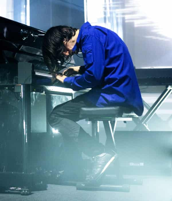 Raw, muscular funkiness … Jonny Greenwood.