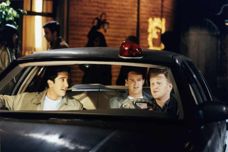 Michael Rapaport, right, is seen in Friends with David Schwimmer and Matthew Perry.