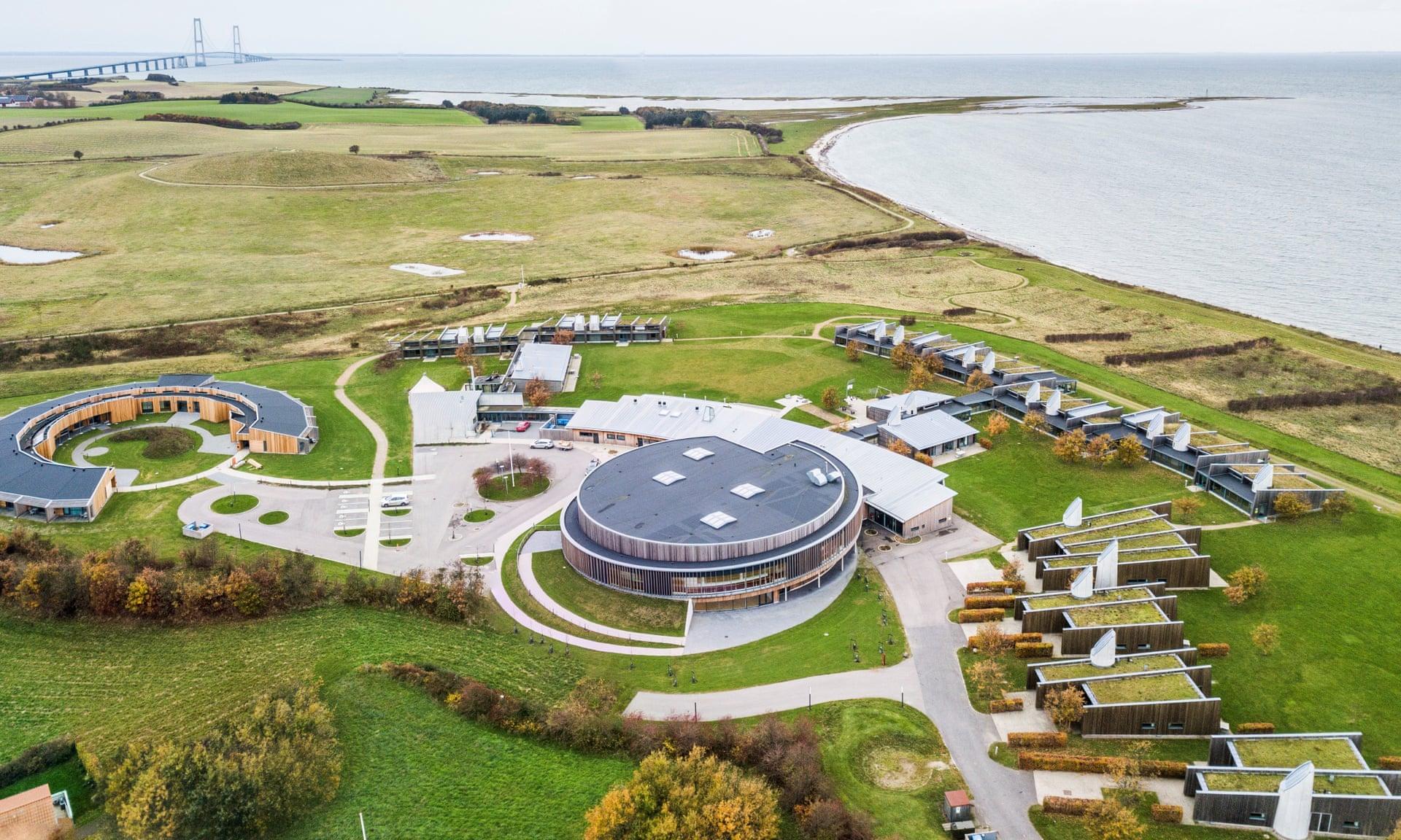 Musholm deportes, vacaciones y complejo de conferencias en Korsør. Fotografía: PR