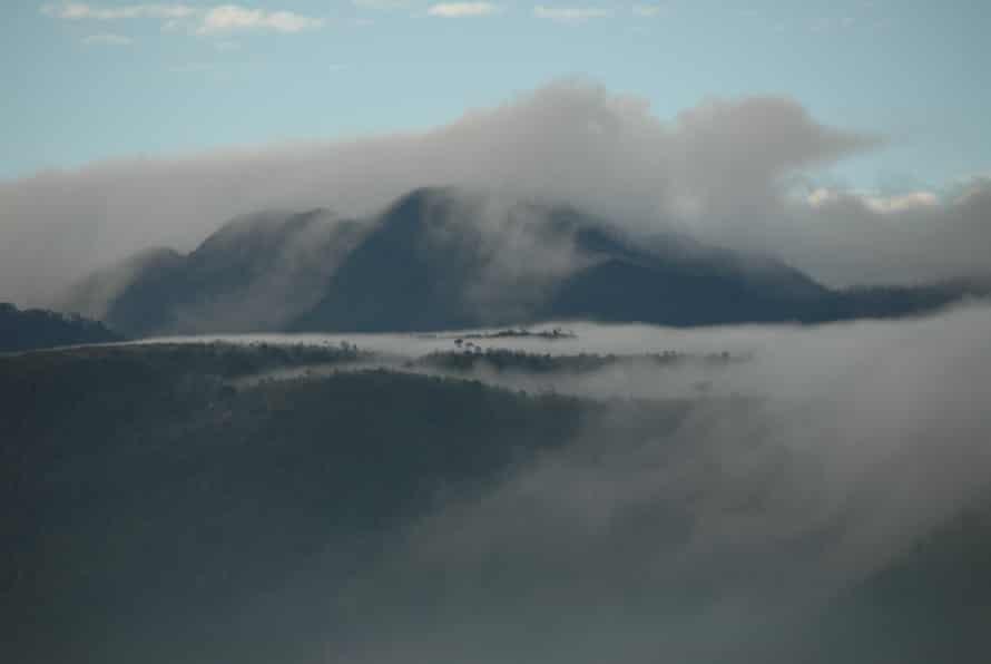 Paniai Mountains. West Papuan highlands.