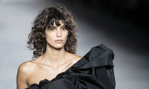 The Argentinian model Mica Argañaraz , the new face of Zara.