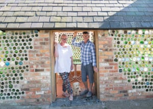 Bottle Shed – owned by Lauretta and Philip Denton