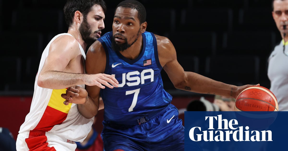 Men's basketball: USA come alive to rally past Spain in blockbuster quarter-final