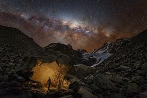 PEOPLE & SPACE: Wanderer in Patagonia © Yuri Zvezdny (Russia) – WINNER