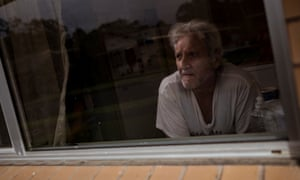 Mark Lanyon at home in Gippsland. Advocates argue it is cruel to punish the unemployed for not meeting their 'mutual obligations'