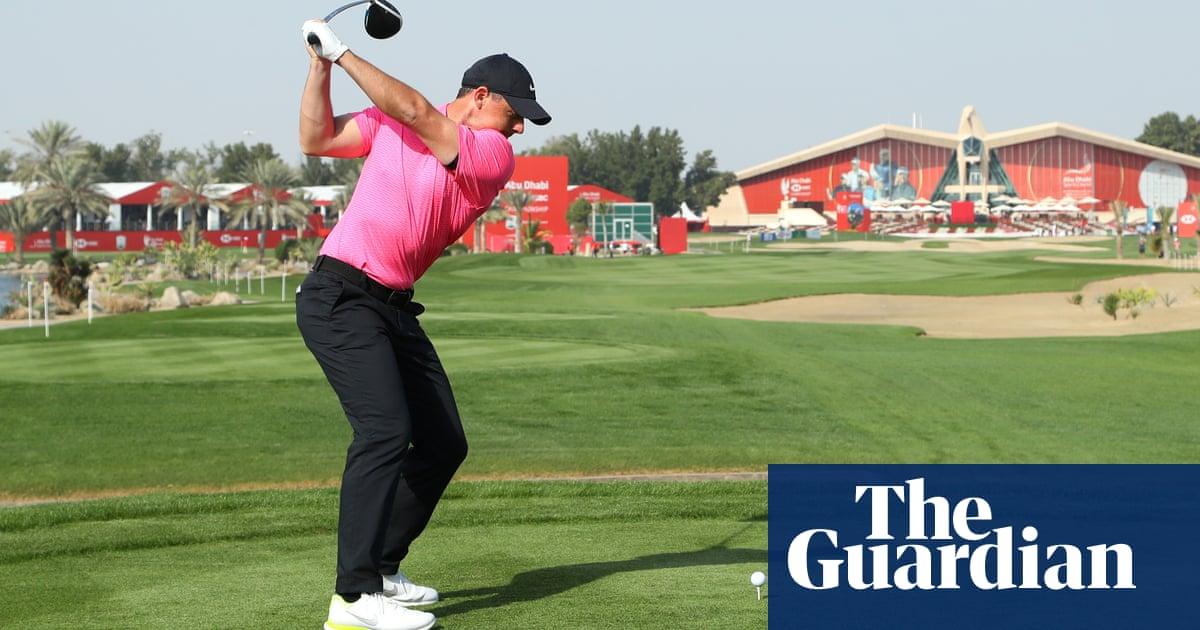 Rory McIlroy enjoys greens to take lead in Abu Dhabi as Thomas struggles