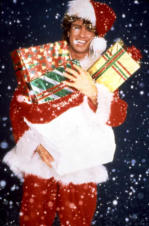 'He recognised the power his creativity gave him in the business …' George Michael in a promo for White Christmas.
