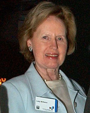 Lady Williams in 2003.