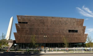 The National Museum of African American History and Culture, where a noose was found on the floor last month.