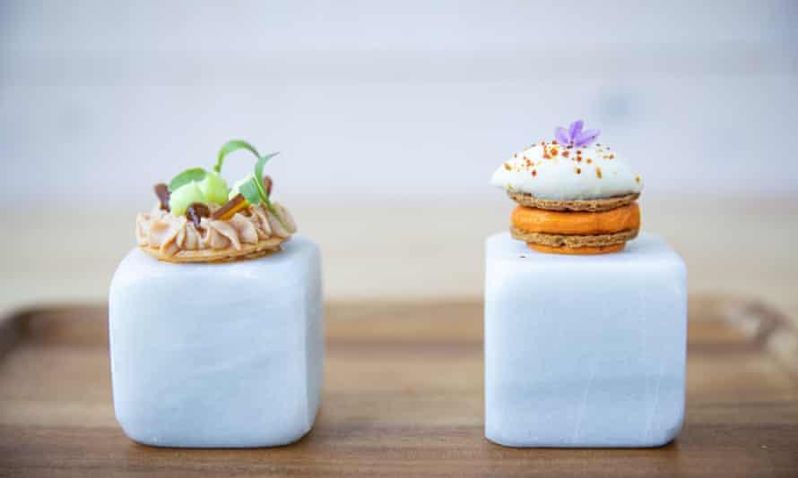 Tasting menu at Michelin-starred Cobo Vintage