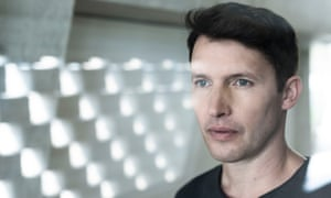 James Blunt: 'I'm self-deprecating because I'm British and that's what we're supposed to be.'