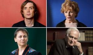 Cillian Murphy, Edna O'Brien, Anne Enright and John Boorman