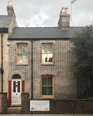 David Parr's two-bedroom terrace house