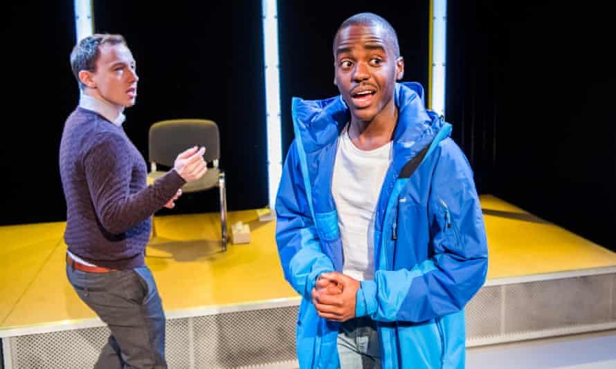 Ncuti Gatwa with Nick Blakeley in The Claim.