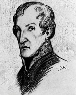 A portrait of Dr James Barry.