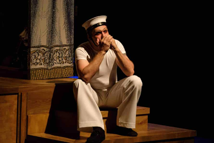 Josef Ber in HMS Pinafore.